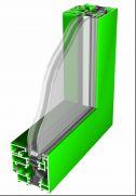 Imperial ukryte skrzydło w oknie aluminiowym
