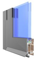 Intruder drzwi aluminiowe zewnętrzne