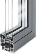 drzwi aluminiowe ciepłe Star