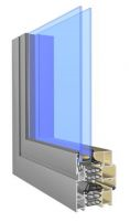 okno aluminiowe ciepłe Superial