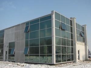 fasady aluminiowe pełnoszklane