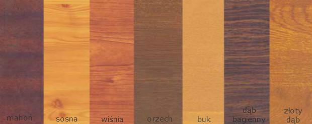 kolorystyka drewnopodobna
